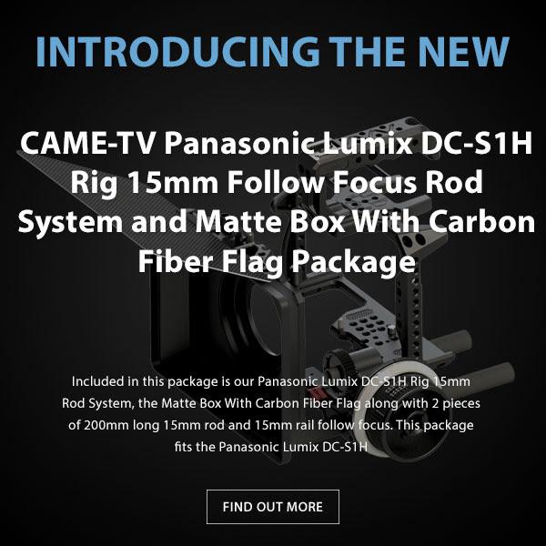 CAME-TV Panasonic Lumix DC-S1H Rig