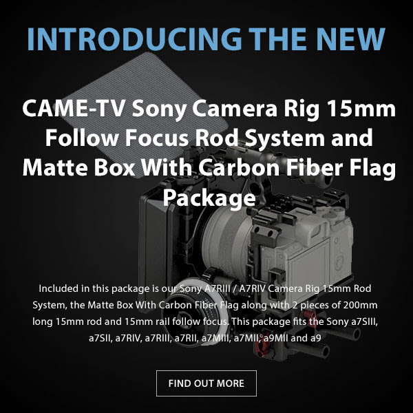 CAME-TV Sony Rig Package