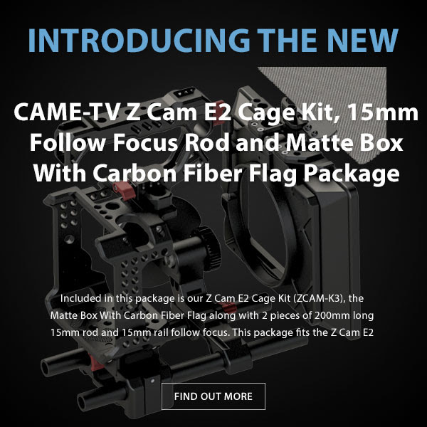 CAME-TV Z-Cam E2 Camera Package