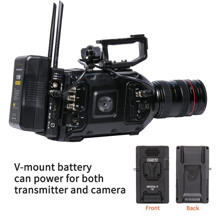 CAME-TV Crystal-V Wireless Transmitter System