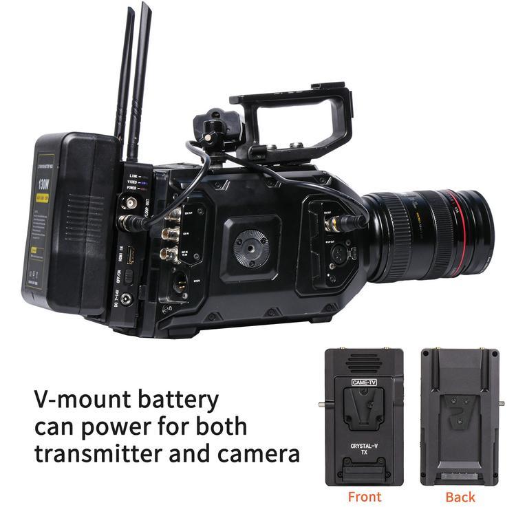 CAME-TV Crystal-V Wireless Transmitter System