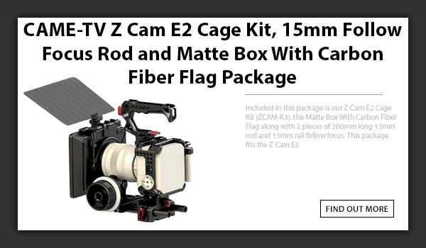 CAMETV Z-Cam E2 Camera Package
