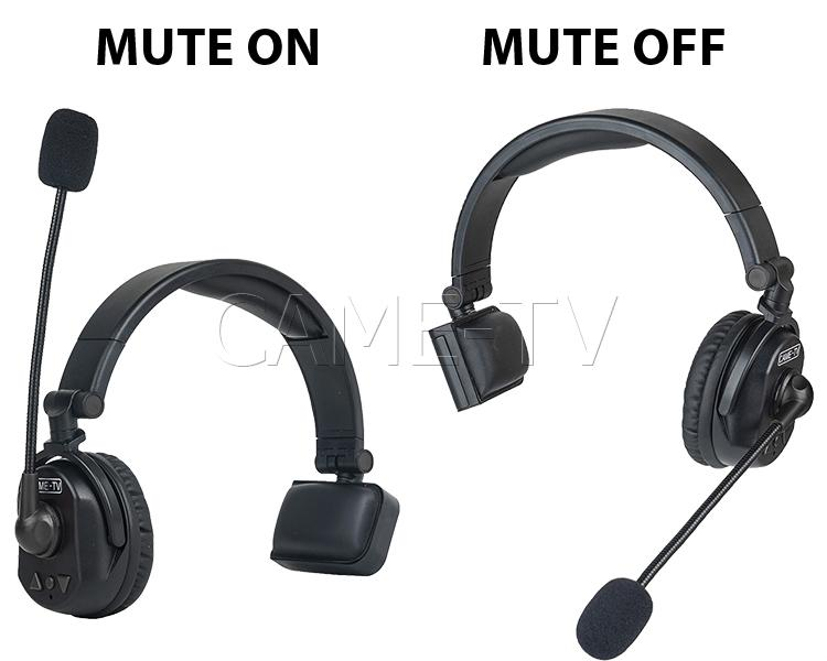 CAME-TV Waero Duplex Wireless Headset