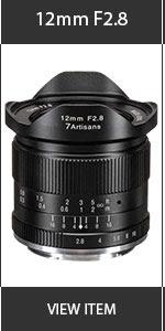 Artisian 12mm Lens