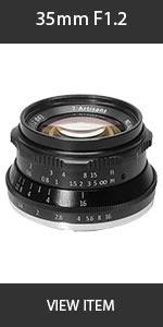 Artisian 35mm 1.2 Lens