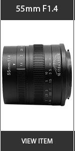 Artisian 55mm Lens