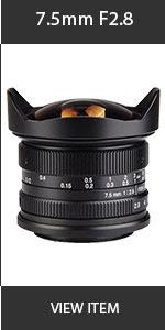 Artisian 7.5mm Lens