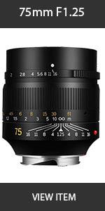 Artisian 75mm Lens