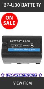 BP-U30 Battery