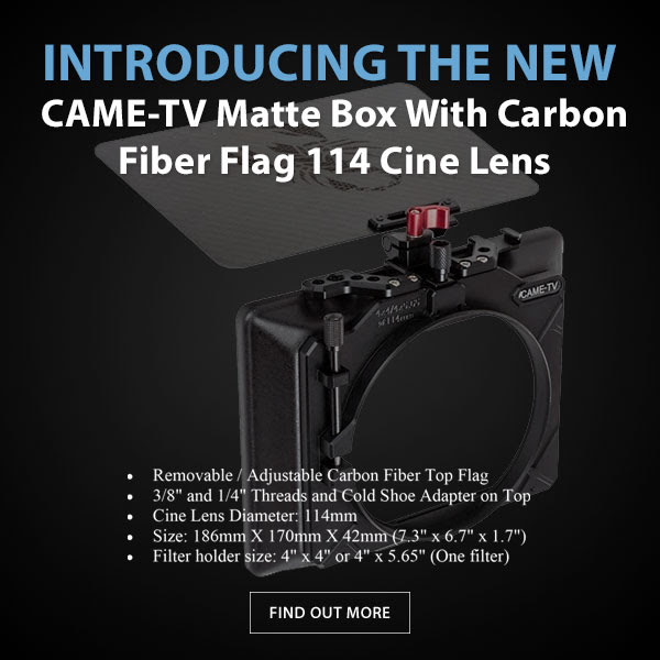 CAME-TV Mattebox 114 Cine Lens
