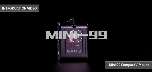 CAME-TV Mini 99 V-Munt Battery