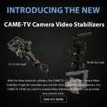 CAME-TV - New Products - Camera Video Stabilizer Arm and Rod Mount
