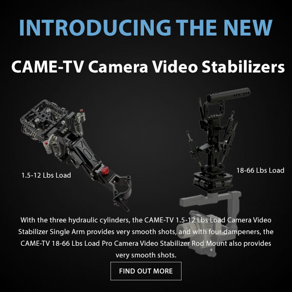 CAME-TV Car Gimbal Stabilizer