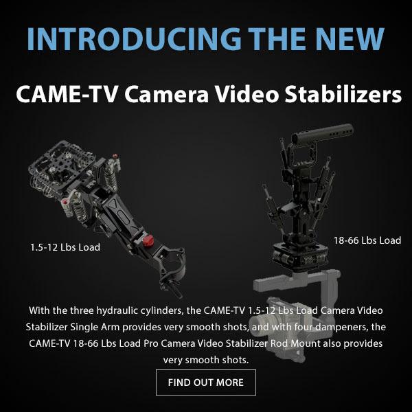CAME-TV Car Gimbal Stabilizer