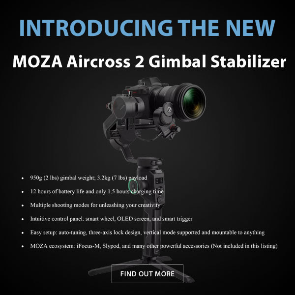 CAME-TV Moza aircross Gimbal
