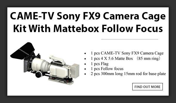 CAMETV Sony FX9 Cage Mattebox