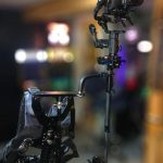 "INSTAGRAM: Balanced and ready to go! @locfilms' CAME-TV Stabilizer setup!  ""Finally balanced my Steadycam/Gimbal hybrid. Waiting on a few parts so I can do some test shots. 😁""  #cametv #stabilizer #gimbal #3axisgimbal #filmmaking #steadicamoperator #onset #cinematography"