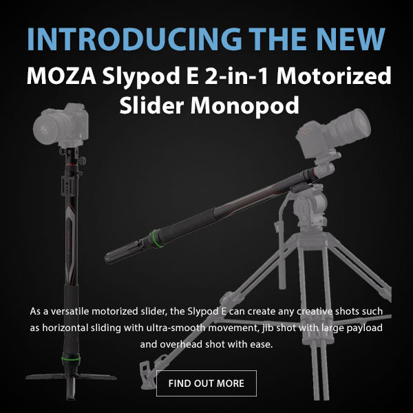 Moza SlyPod E 2-in-1 Motorized Slider Monopod
