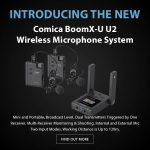 CAME-TV - New - Comica BoomX-U U2 Wireless Microphone System