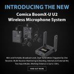 CAME-TV - New - Comica BoomX-U U2 Wireless Microphone System
