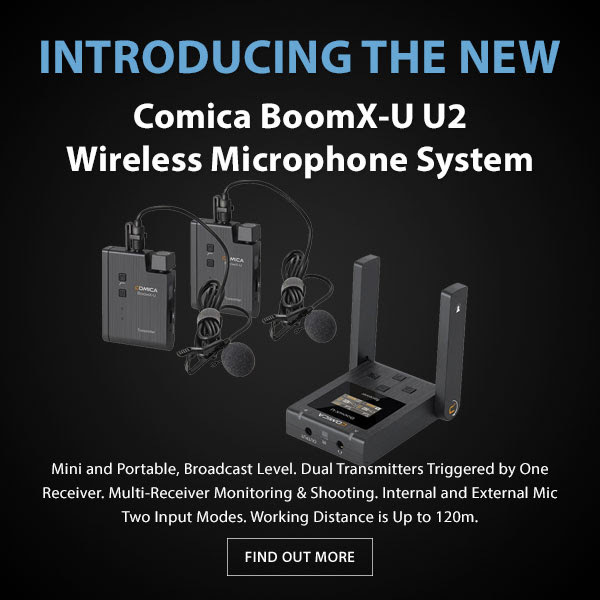 CAME-TV Comica BoomX-U U2 Wireless Mic System