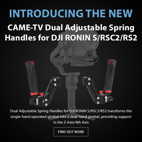 CAME-TV Dual Handles For DJI Ronin