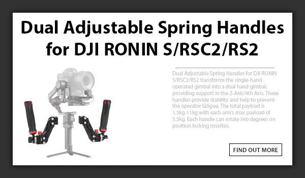 CAMETV Dual Handles For DJI Ronin