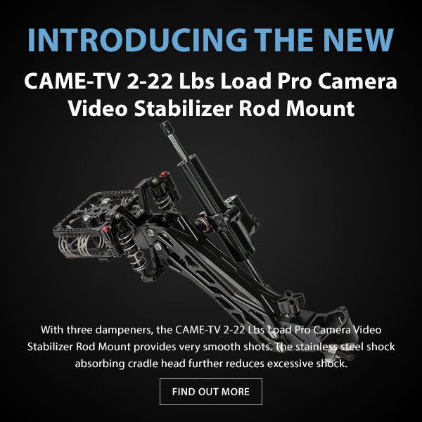 CAME-TV Load Pro Camera Stabilizer Rod Mount
