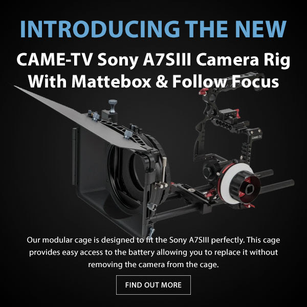 CAME-TV Sony A7SIII Camera Rig