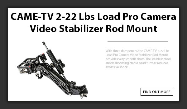 CTV Load Pro Camera Stabilizer Rod Mount