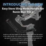 CAME-TV - New Product - Easy Store Sling Mode Handle For Ronin RS2/ RSC2