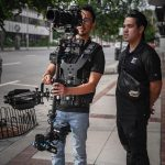 INSTAGRAM: @enmanuelzabala18 checking the playback on set from a recent shoot using our CAME-TV Stabilizer!  #cametv #stabilizer #steadicam #cameraoperator #steadicamoperator #filmmaking