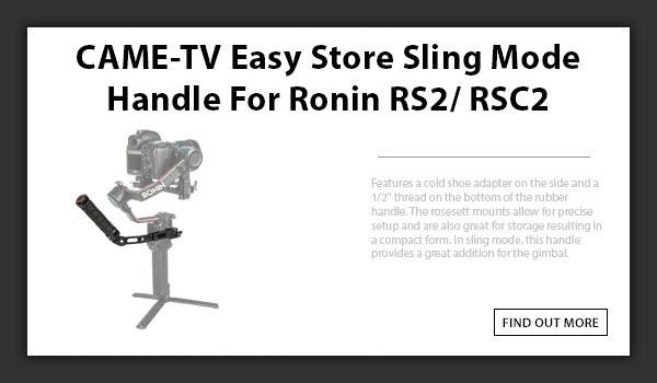 CAMETV Sling Handle For Ronin RS2 : RSC2