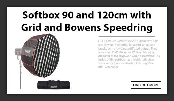 CAME-TV Softbox 90cm & 120cm