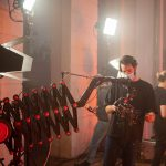 INSTAGRAM: Some BTS pics of our CAME-TV Accordion Jib in action on a music video set! 📸: @cinedistrict  #cametv #jib #crane #musicvideo #onset #cametvaccordion #filmmaking #cameraoperator