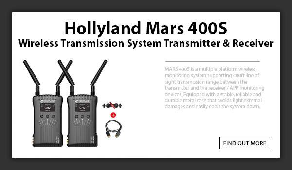 Hollyland Mars 400S Wireless