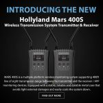 CAME-TV - New Product - Hollyland Mars 400S Wireless Transmission System Transmitter & Receiver