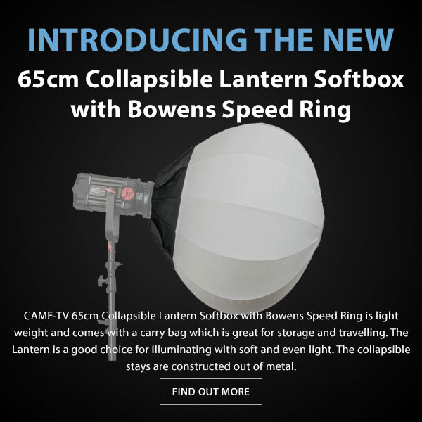 CAME-TV 65cm Collapsible Softbox