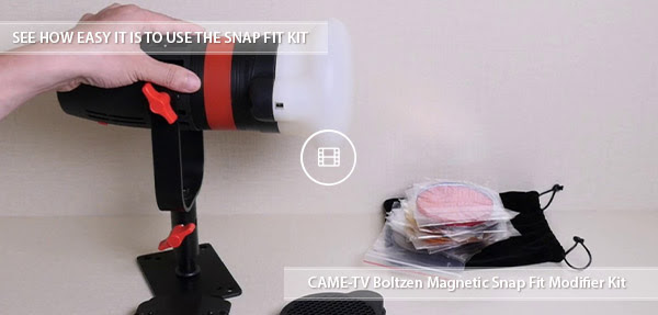 CAME-TV Magnetic Snap Filter Kit