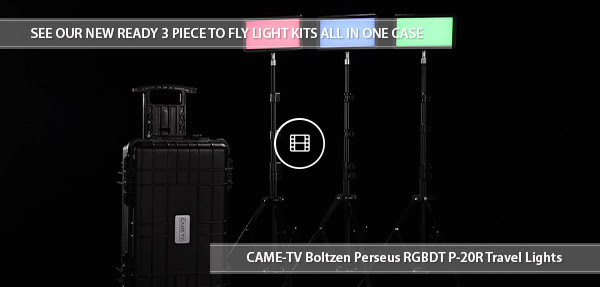 CAME-TV PERSEUS P-20R Travel Kit Video