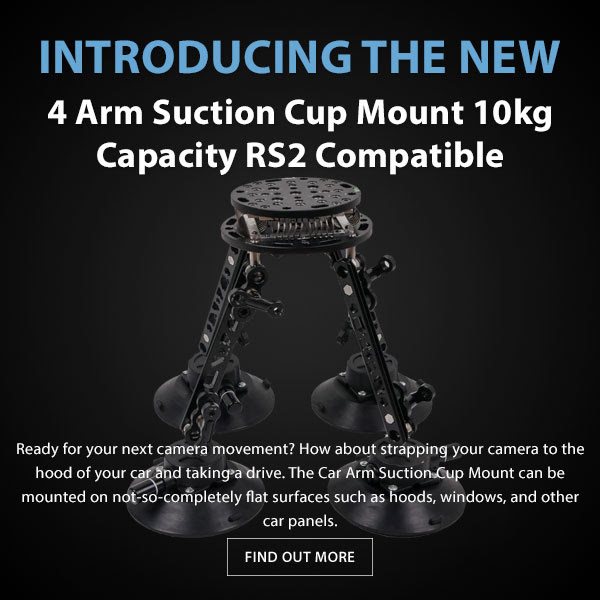 CAME-TV SK06 Suction Cup Mount RS2 Compatible