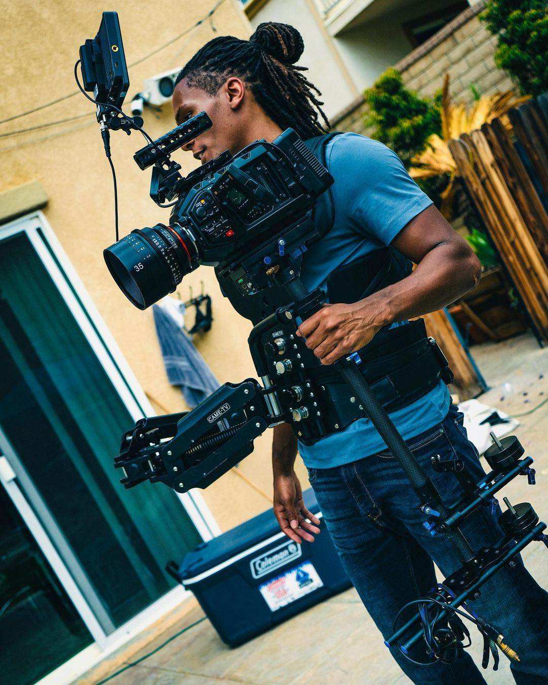 CAME-TV Stabilizer And Vest
