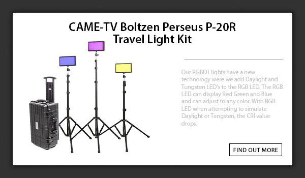 CAMETV PERSEUS P-20R Travel Kit