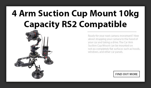 CAMETV SK06 Suction Cup Mount RS2 Compatible