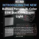 CAME-TV - New Product - Boltzen Perseus Bi-Color 55W SMD Soft Travel Lights