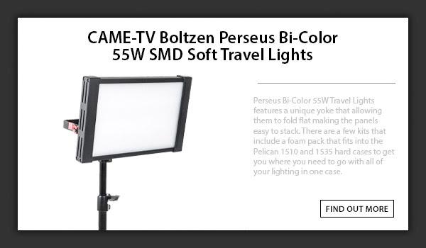 CAME-TV Boltzen Perseus Bi-Color Travel Lights P-1800B