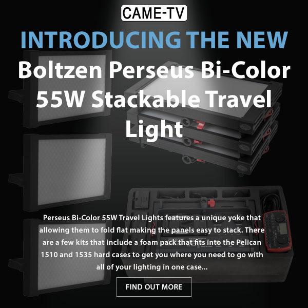 CAME-TV Boltzen Perseus Bi-Color Travel Lights