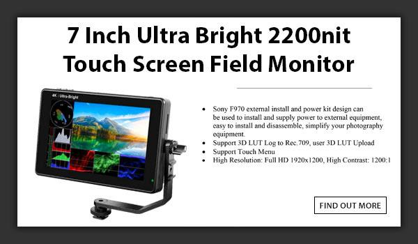 CAMETV 7in Ultra Bright Field Monitor