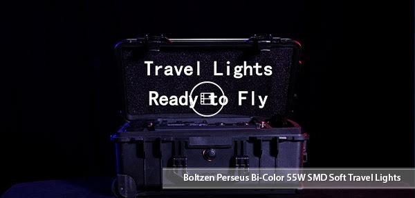 CAMETV Perseus Bi-Color Travel Lights