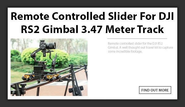 CAMETV Remote Controlled Slider For DJI RS2